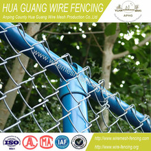 high quality new products galvanized PVC coated chain link fence