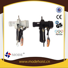 drywall panel hoist hoist electrical Lifting equipment Hoist mode electric chain hoist with trolley 2t*12m