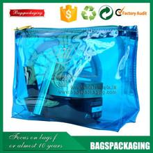 companies manufacture clear vinyl pvc zipper bags with handles