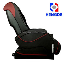 luxury full body coin operated vending massage chair/2015 zero gravity massage chair,natural raw crystal white stones