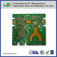 2015 hot FPC 4-Layer FR4 PCB PI rigid-flex pcb with ENIG