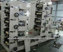 Máquina Impresora Flexográfica de Dos o Cuatro Colores de buena calidad