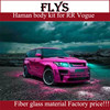 Haman body kit for range rove r vogue 2014. Fiber glass material. FRP material. Factory price!!!