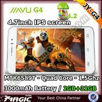Very Popular Jiayu G4t mtk 6589t mobile phone 2GB/32GB