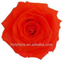 Flor color de rosa para los regalos de navidad/artesanías hechas a mano para la decoración