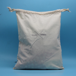 lowest price small thick cotton pouch drawstring for jewelry packing,promotional cotton drawstring bags logo customized