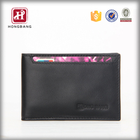 2015 Classic rfid blocking card wallet id cards leather wallet