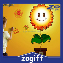ZOGIFT 3D Light Operated LED Wall Sticker Lamp
