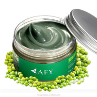 Herbal AFY Face Care Mask AFY Mung Bean Seaweed Mud Facial Mask