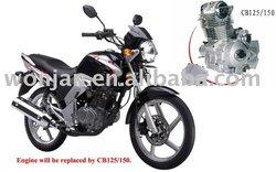 125cc Motorcycle//Street Motorcycle WJ125-15(V)(WJ-SUZUKI Engine)