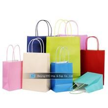 High quality shopping paper bag paper bag kraft