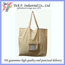 Easy to Use Promotional Rip-stop Nylon Foldable Shopping Bag