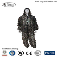 3D leather leaf jacket,Camo hunting clothing,Camouflage hunting clothing