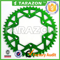Fit for kawasaki cnc rear motorcycle sprockets from tarazon