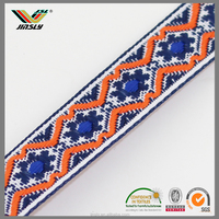 wholesale high quality jacquard cotton webbing