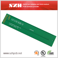 surface mount pcb 10 layers 1.6mm 2oz printed circuit board pcb pcb board for UPS