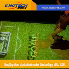 green wall system for 3D interactive floor wall system for advertising shopping mall.