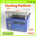 Plataforma de precalentador, 150*150mm 400w venta caliente smd placa de precalentamiento/tablero de calefacción