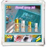 Autokem best seller stencil spray ink, stencil marking paint, odorless/alphabet spray paint