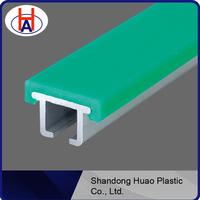 Self-lubricating UHMW-PE Chain Guides, Plastic Guide Rail