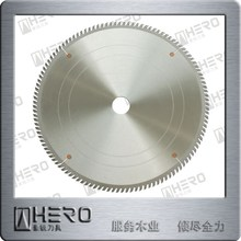 TCT saw blade for melamine coated and rigid materials