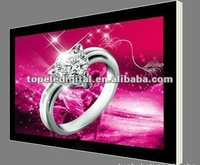 65inch shopping mall big size wall hanging USB upload lcd advertising,digital signage