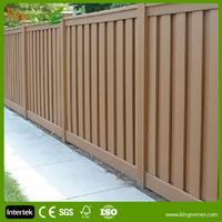 fencing wood plastic composite building materials anti-UV fences