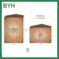 Customized simple design A4 250gsm kraft paper envelope
