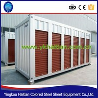 Sandwich panel container cabin, low cost prefab container house