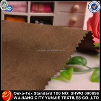 2015 Hot Selling 100% Soft Sueded Cotton Fabric