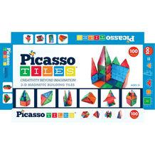 PicassoTiles 100 piece set Magnet Building Tiles