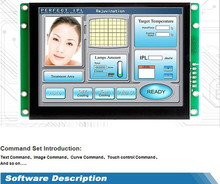 mini led display screen 4.3 inch TFT touch panel lowes paneling