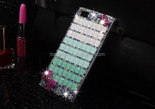Wholesale for huawei p8 bling bling glitter 100% handmade diamonds case cover back housing with factory price