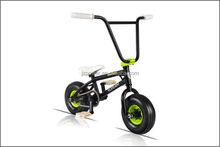 bmx mini , freestyle bicycle,10inch tyre,3 piece crank model,scream design