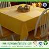 100% pp nonwoven felt in roll for oversea make to order waterproof dining table cloth