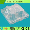 disposable 4pcs plastic egg tray for market