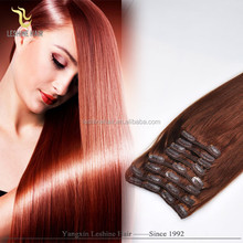 2015 Best selling wholesale!!! no shedding remy full cuticle youtube sex clip in hair