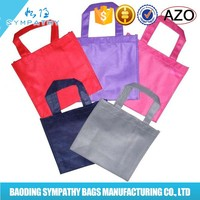 Small blank drawstring non woven bag for promotion