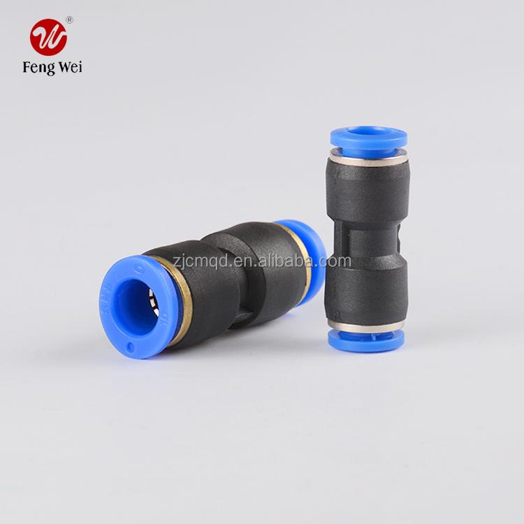 En plastique pneumatique Raccord de tuyau et rapide pneumatique tuyau Raccord pneumatique rapide insertion