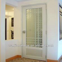 wanjia factory wholesale pvc bathroom plastic door pvc bathroom door design