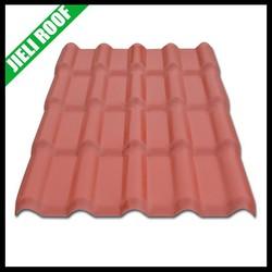 plastic roof tiles/plastic building materials/plastic spanish roof tile