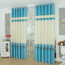 2015 new design joint curtian jacquard sheer curtain new