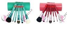 Designer branded synthetic hair eye shadow make up brushes