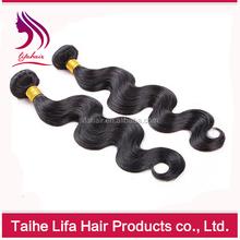 Human hair extension body wave virgin natural hair export