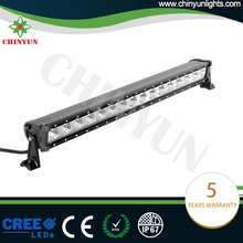 Hot selling 160w single row off road car roof light bar 30inch jeep wrangler led light bar