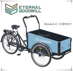 2015 hot sale 26 inch 6 speeds cargo bike/cargo bicycle model UB 9027