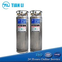 DPL Cryogenic Welding Liquid Nitrogen Gas Cylinder For Sale