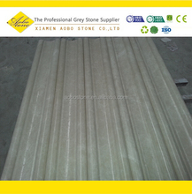 Honed light beige door marble border design pattern line
