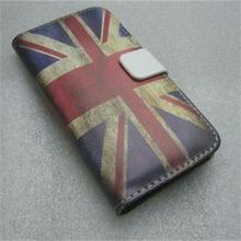 OEM Latest England Stylish Retro PU leather case for iphone 5
