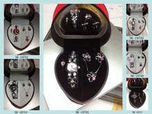 fashion jewelry watch set for promotion gift set